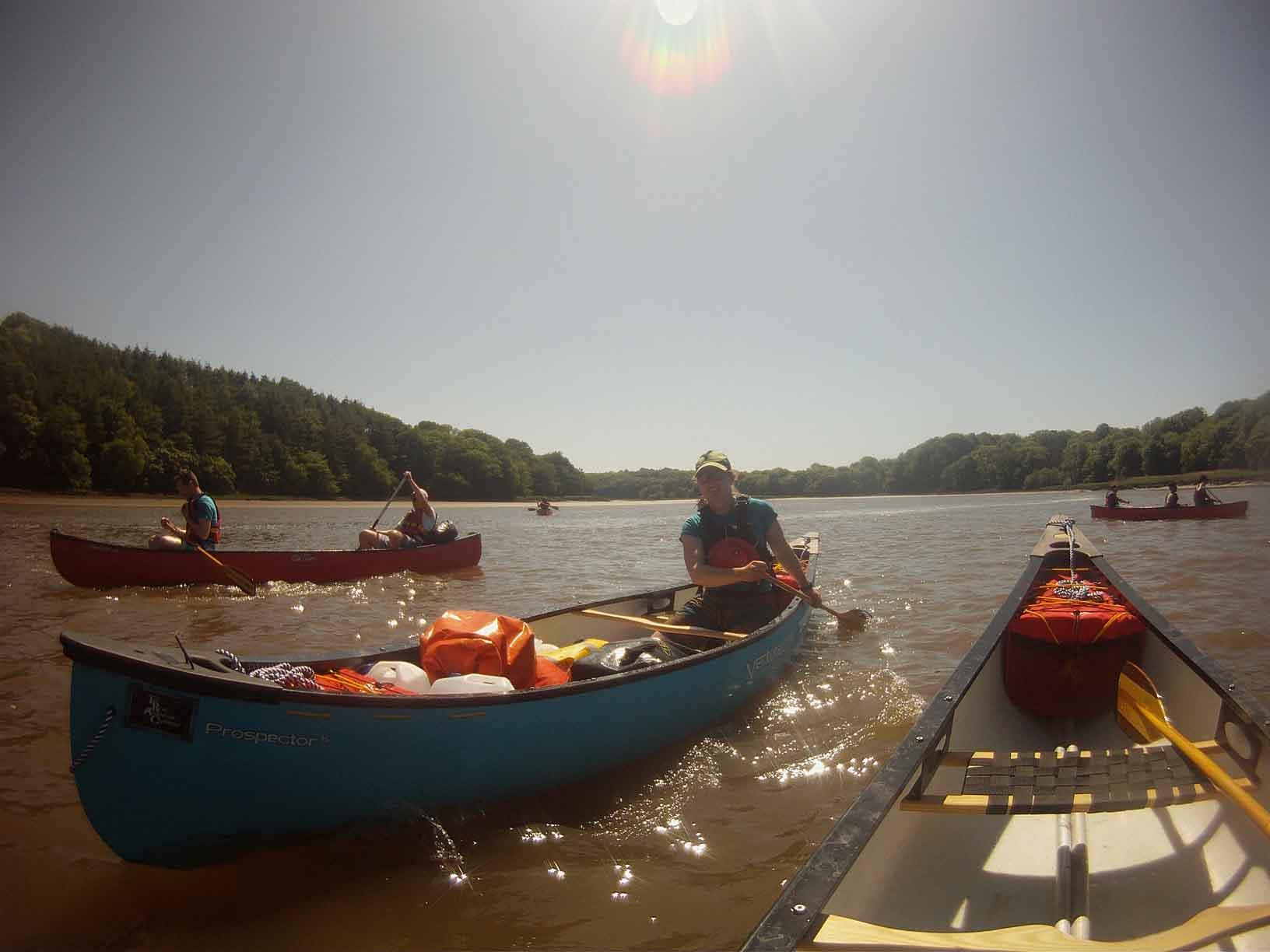 Canoeing Cleddau